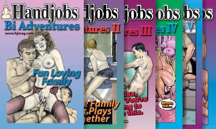 Bi Adventures Series Covers